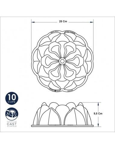 Nordic Ware - Magnolia Bundt Pan