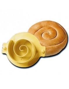 Stampo pane rosetta a spirale
